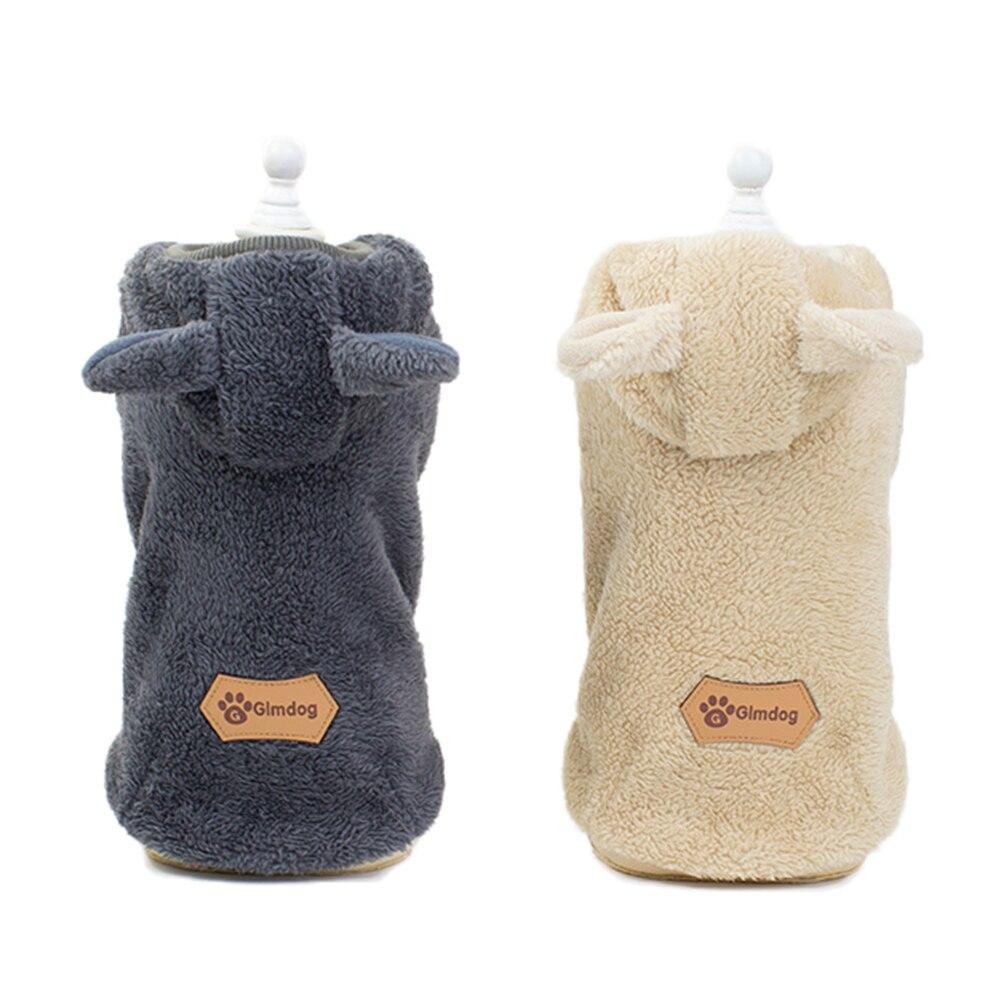 Одежда для домашних собак Симпатичные кошки и собаки зимняя толстовка одежда для домашних животных пальто для собак куртка французская одежда для бульдога для собачек-Мопсов