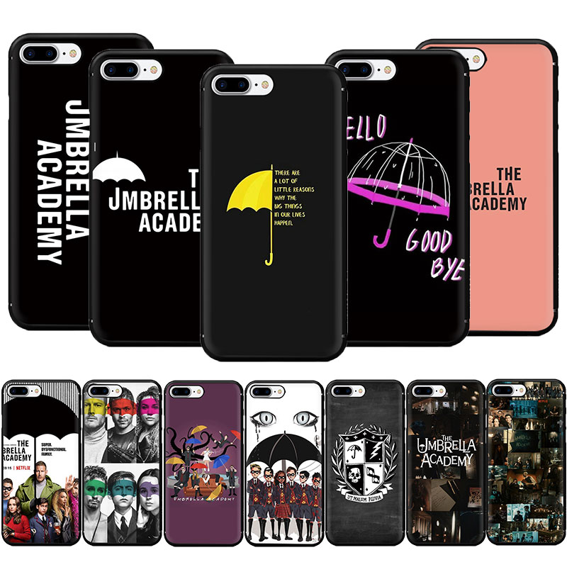 The Umbrella Academy Soft TPU Phone Case for iPhone 11 Pro 5 5s 6 6s 7 8 Plus X XR XS MAX