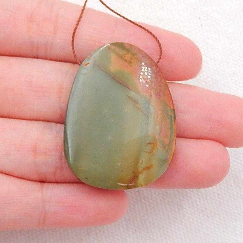 Picasso Jasper 30X39X5 MM Picasso Jasper Cabochon Gemstone Handmade Picasso Jasper Heart Shape Top Polish Cabochon For Wire Wrap Jewelry