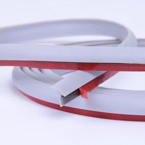 Image 3 - 자동차 도어 씰 자동차 회색 고무 씰 자동 사운드 절연 충격 실란트 씰링 스트립