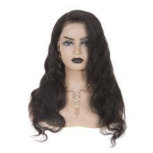 Парики sevengirls на шнуровке спереди натуральные волосы с необработанными