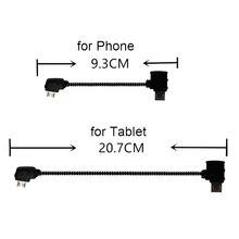 Daten Linie für DJI Mavic Mini Pro Air Mavic 2 Pro Zoom Drone Zubehör Tablet Micro USB Reverse Typ C Port Kabel Stecker