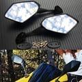 Углерода зеркала заднего вида мотоцикла для HONDA CBR600RR CBR 600 RR 2003 2004 2005 2006 2007 2008 2009 2010 2011 CBR1000RR 04-07