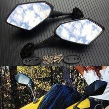 CBR600RR carbono Rear View Espelhos Da Motocicleta para HONDA CBR 600 RR 2003 2004 2005 2006 2007 2008 2009 2010 2011 CBR1000RR 04-07