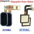 Гибкий кабель для ASUS ZC553KL  сенсорный датчик отпечатков пальцев  Кнопка меню для дома  ZC554KL ZE520KL ZE620KL ZD552KL  гибкий кабель для распознавания отпе...