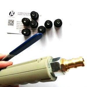Image 2 - Luft Sandstrahlen Pistole für 5 20Gallon Mobile Sandblaser Tank Mit 7 Stück Düse Und 1 Kupfer Fitting