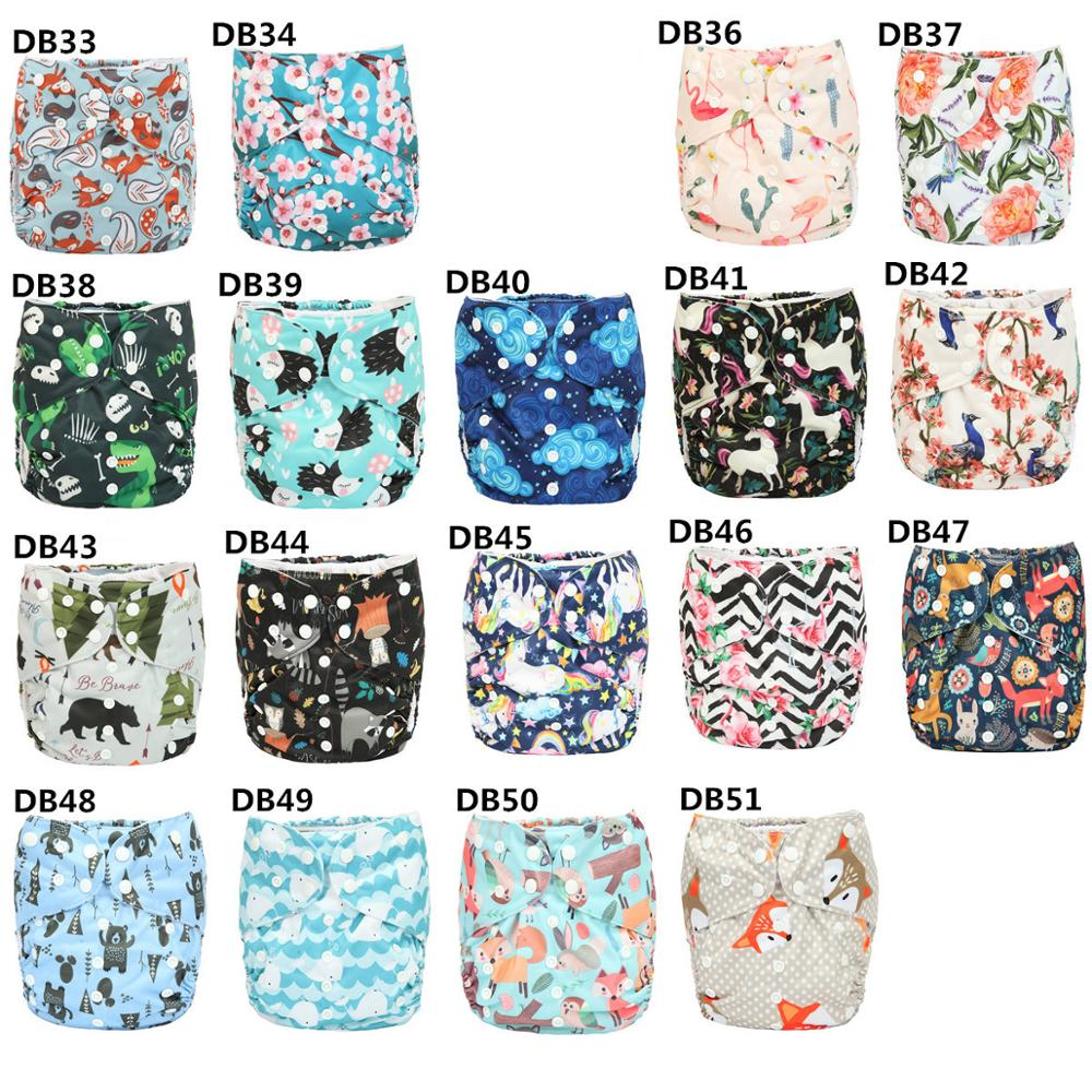 Sigzagor 10pcs 2 to 7 years old Big Cloth Diapers Nappy Pocket Reusable Washable Microfleece