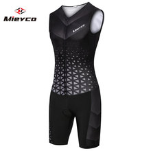 цены Mieyco Men Cycling Skinsuit Triathlon Speedsuit Trisuit All Out Speedsuit Sleeveless Speedsuit Maillot Ciclismo Clothing