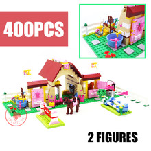 New Friends Heartlake Stables Mia's Farm Fit Friends Figures House Building Blocks Bricks Diy Toys Girls Kid Gift Set Birthday стоимость