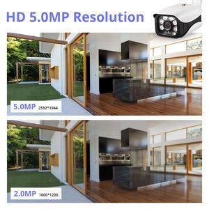 Image 5 - KERUI 8CH 5MP Wireless NVR POE Security Camera System Outdoor IR CUT CCTV Video Surveillance Video Recorder Kit Face Record