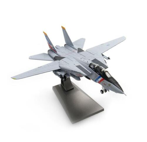 1/100 Metal Tom-cat F14 Fighter Grey Gift Jet Static Airplane Model Aircraft
