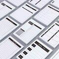 Еженедельный планировщик, ежедневник, маленький дневник, канцелярские принадлежности, школьный блокнот назад в школу Mini 2020