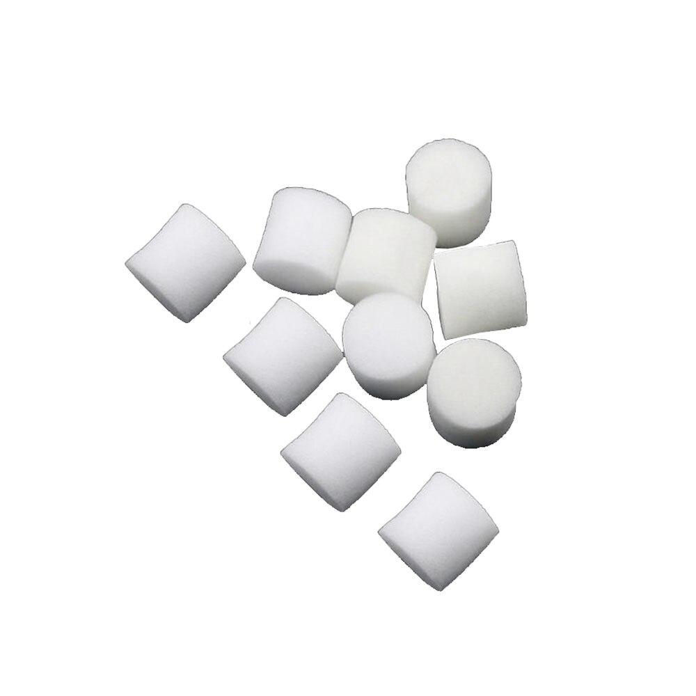 Collar Foam 10pcs Insert Plant Soilless Hydroponic Nursery Tools Hydroponics Sponge Mini White Vegetable Mesh Net Pots