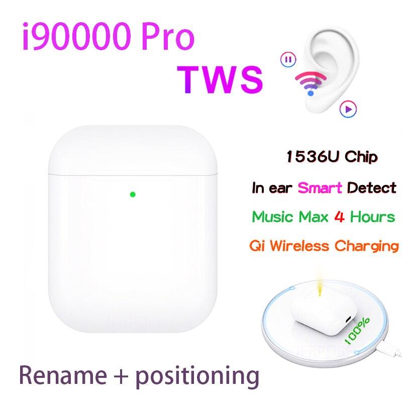 Original i90000 Pro TWS 1:1 In-ohr Blutooth Kopfhörer Mini Wireless Sport Headsets Kopfhörer Stereo Ohrhörer elari PK Aire 2 3