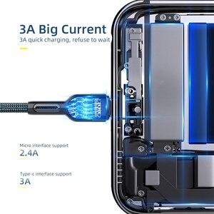 Essager кабель с разъемом USB Type C для Samsung Xiaomi mi 3A быстрой зарядки USB C кабель Мобильный телефон зарядное устройство USBC Type C кабель AWG кабель 2 м|Кабели для мобильных телефонов|   | АлиЭкспресс
