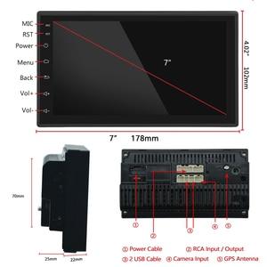 "Image 4 - Podofo Android 2din Car Radio 7"" Multimedia Player Autoradio Touch screen GPS WIFI Bluetooth Car Audio Radio Stereo Mirror Link"