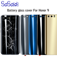 10 יח\חבילה חזור זכוכית סוללה שיכון כיסוי החלפה עבור Huawei לכבוד 9 lite דלת אחורי מקרה עם מדבקה