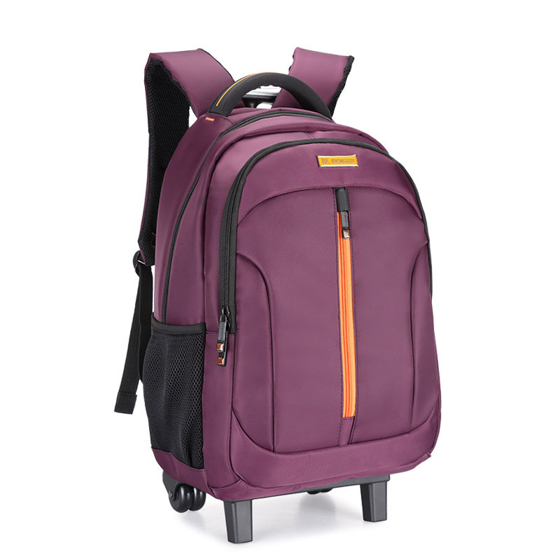 Backpack Suitcase-Extension Luggage Fashion Boarding Computer-Schoolbag Wheel Travel