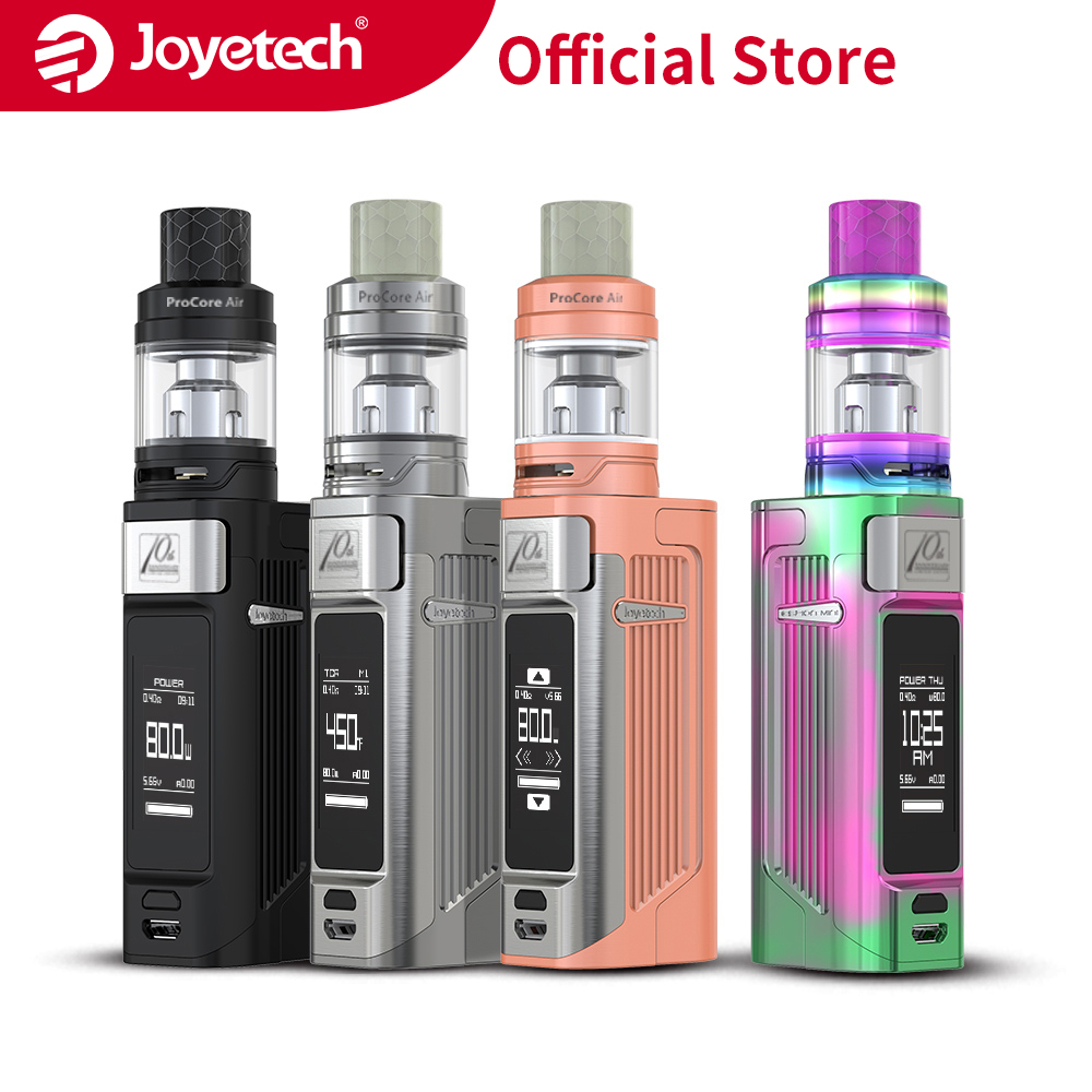 Original Joyetech ESPION <font><b>Solo</b></font> Kit With ProCore Air Atomizer 4.5ml Capacity Tank in ProCA 0.4ohm Head 80w Electronic Cigarette image