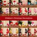 Оправа для очков с милым Санта Клаусом, елкой, оленем, снеговиком, шапкой, снеговиком, оленем, реквизит для детской одежды, очки на Рождество