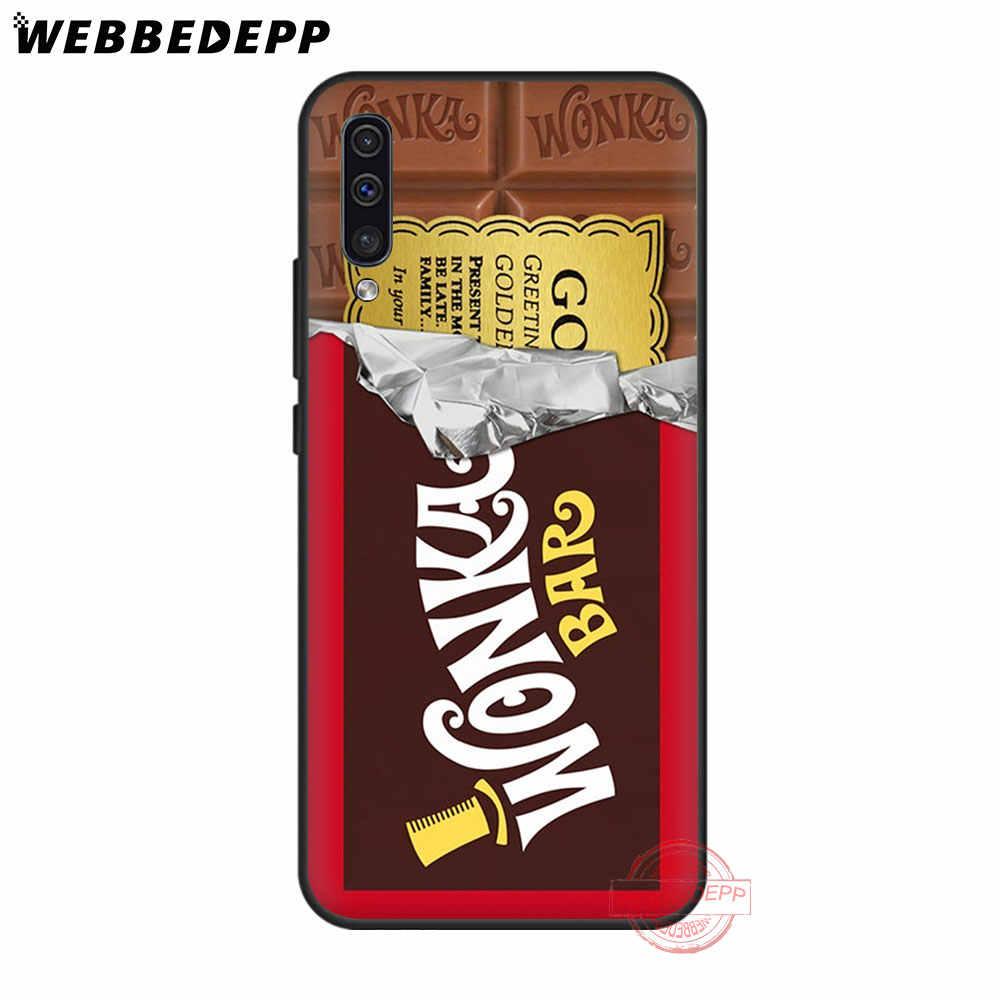 لينة حقيبة لهاتف سامسونج A10s A20s A30s A40s A50s A60 A70 M10 20 30 40 A51 A71 A81 A91Cover 186N Alenka شريط ونكا الشوكولاته