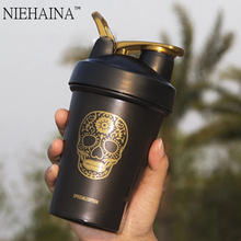 400Ml Plastic Scrub Shaking Cup  Scale  Shaker Bottle Shaker Protein Sports Shaker Drink Protain Shaker Sport Shaker Bottle