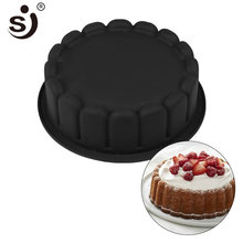 Wedding Form Cake Decorating Mold 3d Silicone Mold Cake Round Large Baking Tool Tray Bakeware Non-Stick FDA Safe