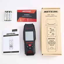 Electromagnetic Field Radiation Tester Meterk MK54 EMF Meter Handheld Counter Digital Dosimeter LCD Detector Portable EMF Tester
