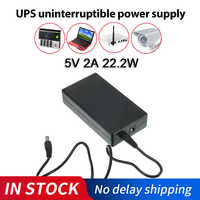5V 2A 22.2W UPS Uninterrupted Power Supply Alarm System Security Camera Dedicated Backup Power Supply For Camera Router