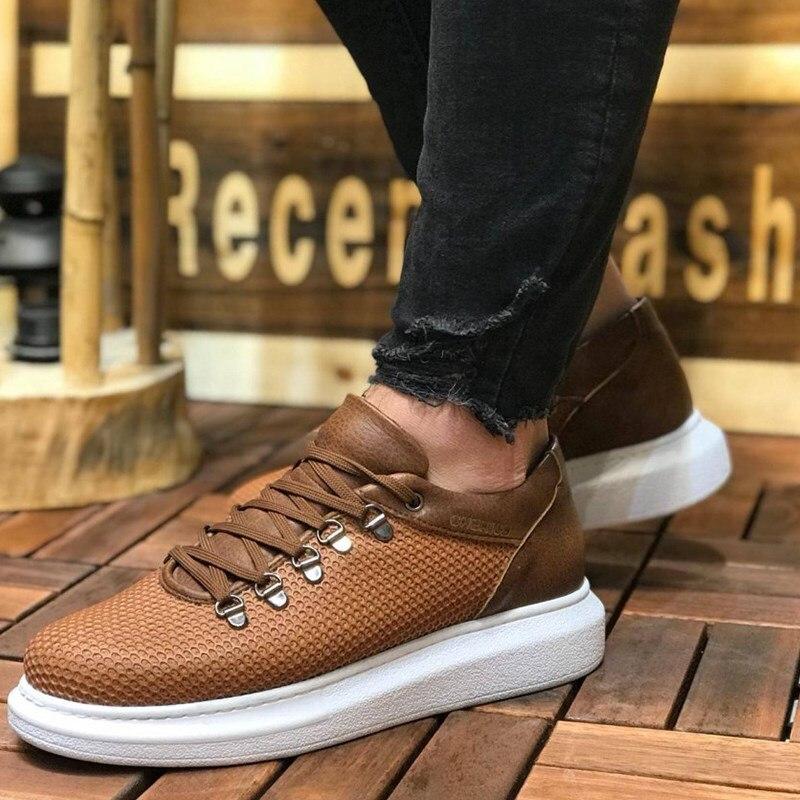 couro casamento ortopédico sapatos de caminhada calçados