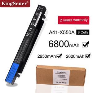 Image 1 - 15V 2950mAh Korea Cell New A41 X550A Laptop Battery for ASUS A41 X550 X450 X550 X550C X550B X550V X450C X550CA X452EA X452C