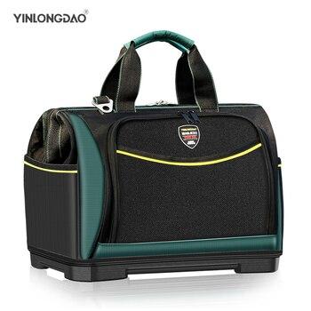 YLD Electrician Bag Multi-function Tool Bag1680D Oxford Waterproof Large Capacity Wear-resistant Storage ToolKit DIY Tools - discount item  50% OFF Tools Packaging