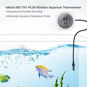 Image 1 - Inkbird IBS TH1 Plus Draadloze Bluetooth Thermometer & Hygrometer Met Aquarium Probe Voor Android & Ios Telefoon Gebruikt Voor Aquarium