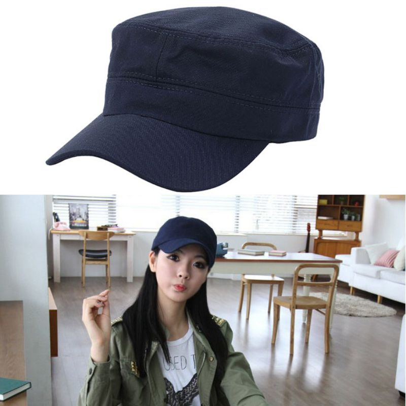 Sportswear-Accessories Flat-Top-Cap Women The And Outdoor of Needs When Can-Be-Adjusted