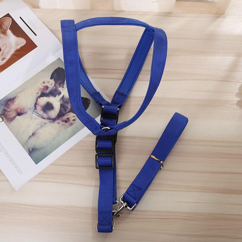 Dog Chain Dog Hand Holding Rope I-shaped Chest And Back With Nylon Tow Rope Chest And Back Set Medium Large Dog Chest And Back