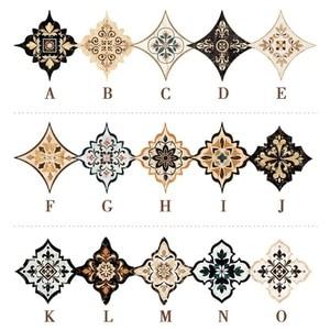 Image 3 - 21pcs עצמי דבק PVC קרמיקה אריחי מדבקות עמיד למים קיר מדבקת אמנות אלכסוני רצפת מדבקות מדבקה דקורטיבית