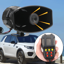 Speaker Horn-Signal Megaphone Alarm-Police Fire-Siren 7-Sound-Amplifier Car-Warning Auto-Loud
