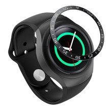 Для samsung gear S2 SM-R720 Нержавеющая сталь ободок кольцо металлический чехол крышка смарт часы замена аксессуары ремешок