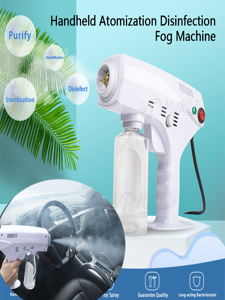 Fog-Machine Disinfection Steam-Gun Blue-Light Nano Stage Handheld 110V 220V Atomization