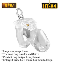 2021 new HT-V4 Male Chastity Device Lock Penis Ring Cock Cage Sex Toys for Men Penis