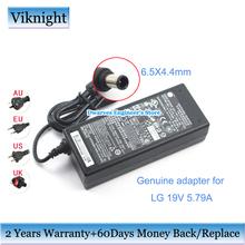 Oryginalne 19V 5 79 AC Adapter zasilacza do ładowarki dla LG 34UM95C PF1500G żarówka jak 34UC98 BFP100-27 EAY63032202 ADS-110CL-19-3 tanie tanio viknight 19 v 5 79A Uniwersalny ADS-110CL-19-3 190110G 100-240V 50-60Hz~1 5A MAX 19V 5 79A 110W 6 5 x 4 4mm Original Genuine