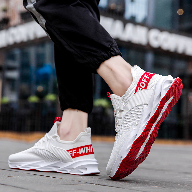 2020 Spring Men's Sports Casual Fashion Hollow Blade AJ 1s 2s AJ Running Shoes  Men Shoes  Brand Off White Sneakers  Trending