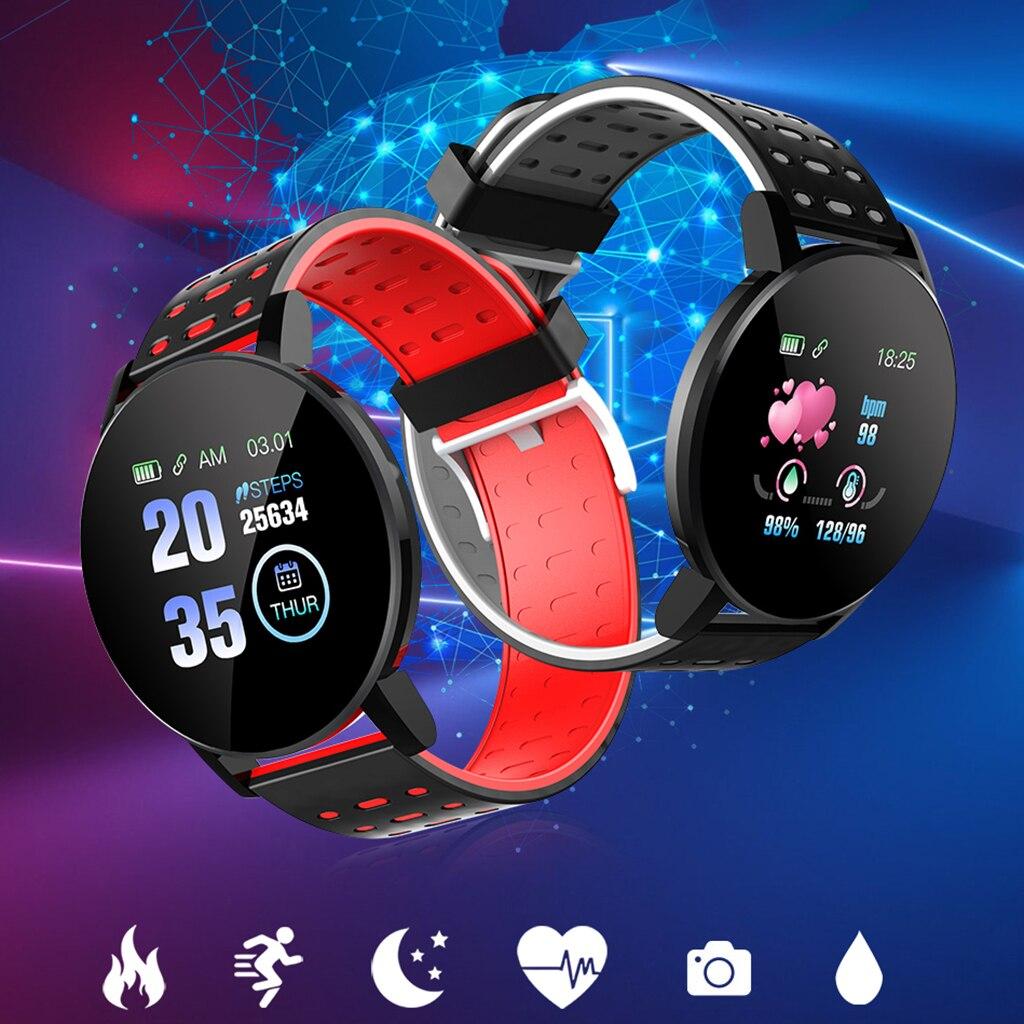 Bracelet intelligent Bracelet femmes hommes Sport Fitness Tracker montre Bluetooth 4.0 Bracelet pour iPhone Android Windows système Microsoft 4