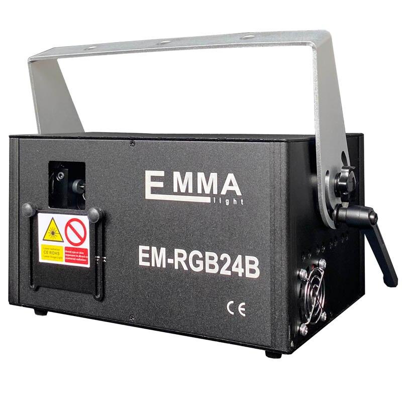 2W 3D Laser Projektion Rgb Bunte Dmx 512 Scanner Projektor Party Weihnachten Dj Disco Show Lichter Musik Ausrüstung Dance boden