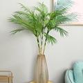 Plantas de árvore artificiais de 90 cm ramo plástico tropical falso interior plantas de plástico árvore casa decoração do jardim nenhum pote