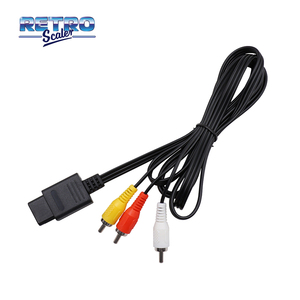 Image 3 - US Version AC Adapter Power Supply and Audio Video A/V Cable for Nintendo GameCube Console