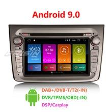 Erisin ES3030GM DSP Carplay Android 9,0 Автомагнитола стерео для Alfa Romeo Mito 7 дюймов gps wifi Автомобильный мультимедийный RDS