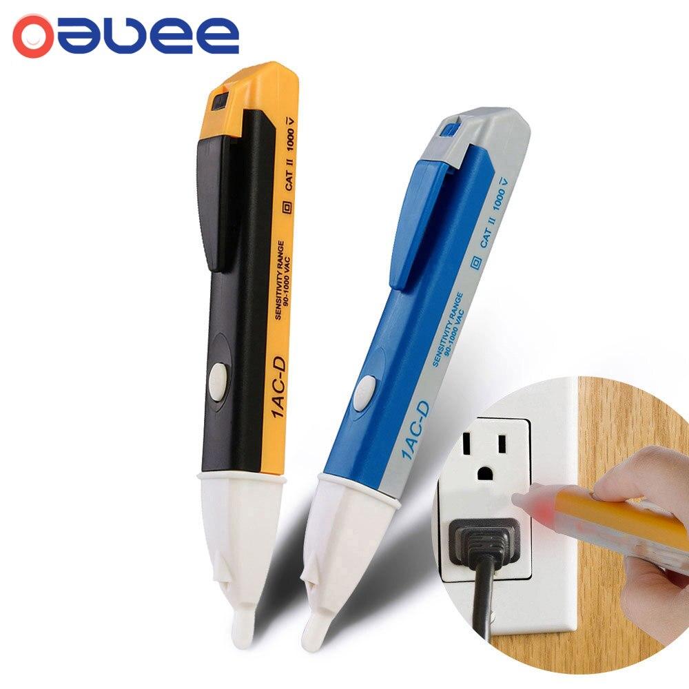 Вольтметр Oauee, 110 В переменного тока, 220 В, вольтметр, щуп, вольтметр, детектор мощности, тестер, бесконтактная розетка, настенный Электрически...