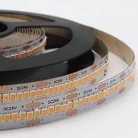 10 м в рулоне/Лот, 300 светодиодов/метр, светодиодные полосы постоянного тока, 10 м с 3000 шт. 2835 smd led