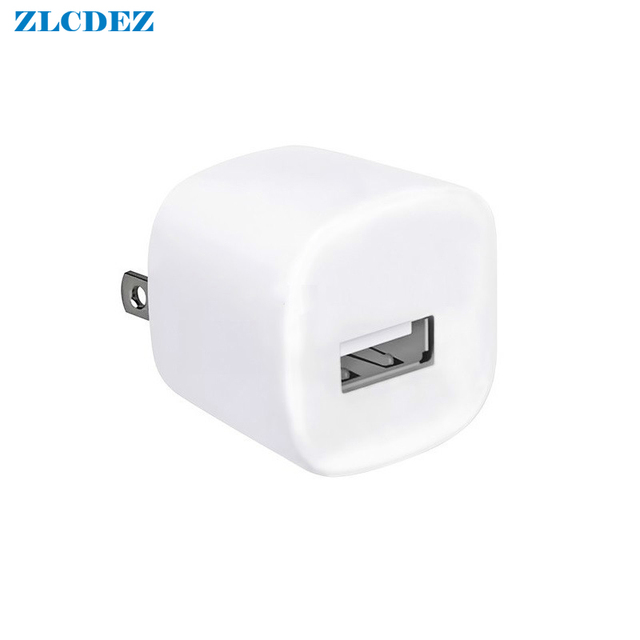 White Travel Wall Charge Charger Power Adapter USA Plug USB AC Charger For Apple IPhone Xs max 7 6 8 8 plus For IPod 100pcs/lot